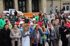 2018-03-08 Internationaler Frauentag Chantiers Place d'Armes Luxembourg AC (176) Signal
