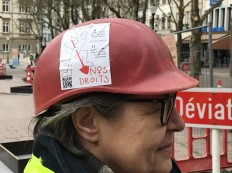 2018-03-08 Internationaler Frauentag Chantiers Place d'Armes Luxembourg AC (278) Signal